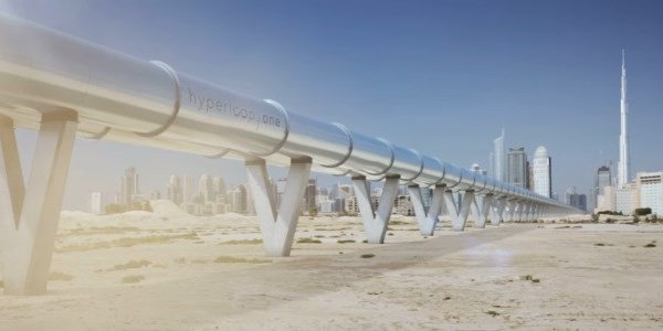 Hyperloop in action, some time in the future in Dubai [VIDEO]