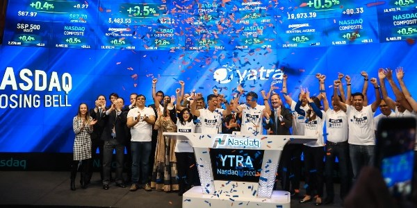 Yatra makes its Nasdaq debut