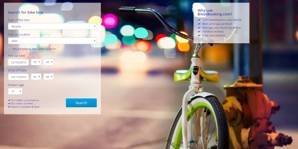 Startup Pitch - BikesBooking wants a new path for two-wheeled activities