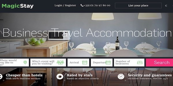 Startup pitch: MagicStay offers private accommodation for the corporate market