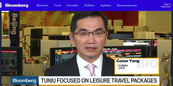 Tuniu unfazed by competition from Ctrip and Fosun