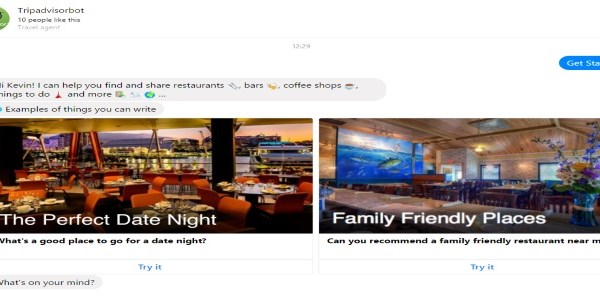 TripAdvisor enters Facebook messaging, activity and restaurant bookings just a bot away