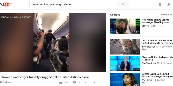A perspective on the United Airlines story