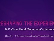 "China Hotel Marketing Conference, ""Reshaping The Experience"""