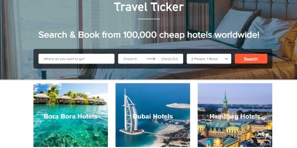 Travel-Ticker returns, then disappears again via sale to HotelPlanner