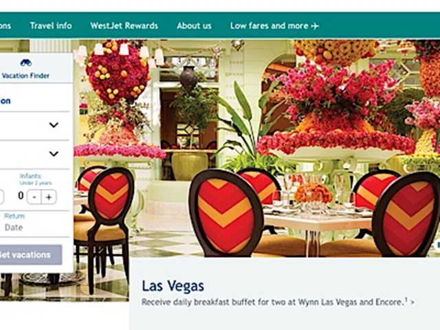 WestJet partners with Switchfly for personalised packages