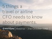 tnooz webinar replay - five things a travel or airline CFO needs to know about payments