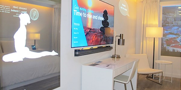 Marriott envisions hotel stays yet to come with a tech-enabled 'room of the future'