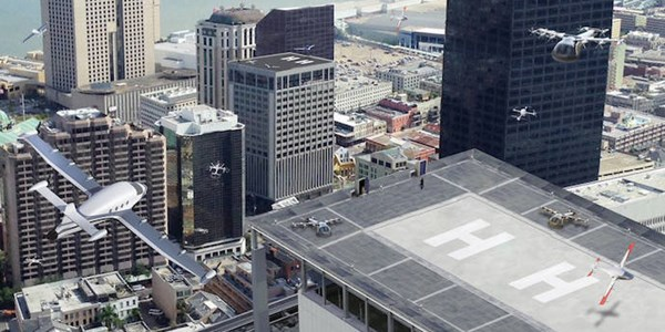 NASA ready to back Uber in plans to manage flying taxis