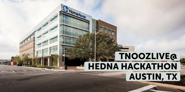 tnoozLIVE@HEDNA: Watch the hackathon teams present live from HomeAway HQ in Austin, Texas