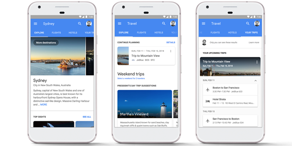 Google updates UX to make flight and hotel bookings easier on mobile