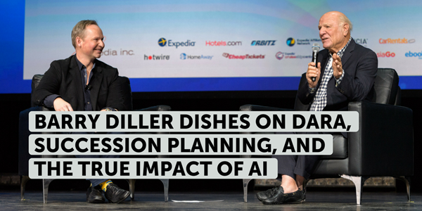 Barry Diller dishes on Dara, succession planning, and the true impact of artificial intelligence