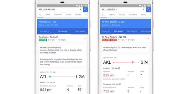 Google Flights now predicts flight delays and breaks down Bare Fares