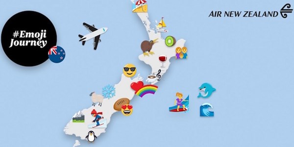 Air New Zealand gets emojinal with destination campaign