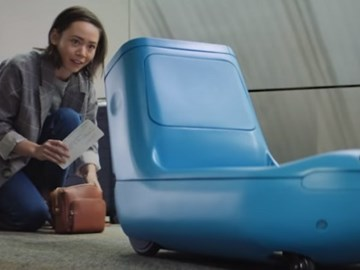 KLM to test robotic companion smart trolley at JFK and SFO