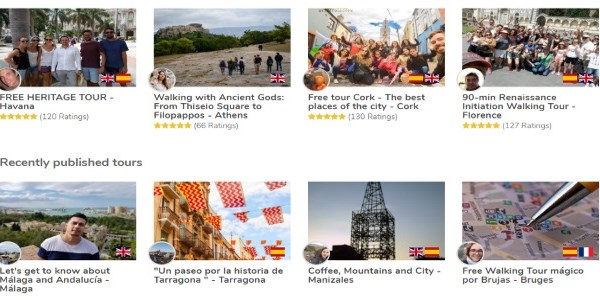 Startup Pitch - GuruWalk offers free walking tours for travelers, tips welcome