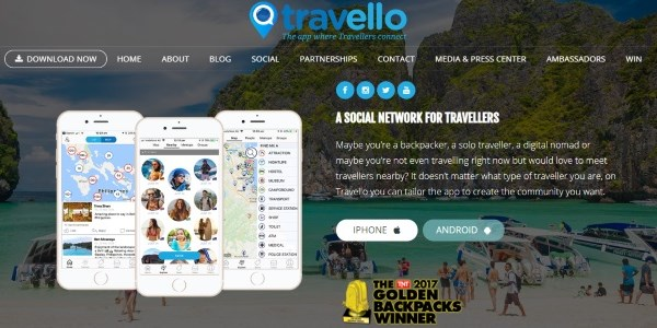 Travello raises A$5 million for its social travel app