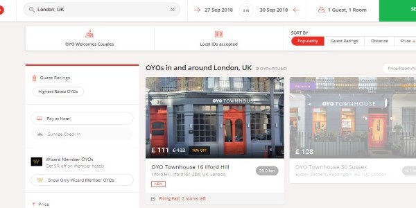 "OYO launches in the UK, eyes ""multi-billion-dollar"" opportunity"