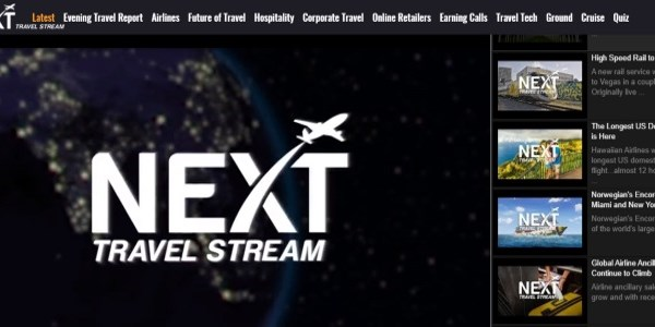 Coming (very) soon...live streaming with NEXT Travel Stream
